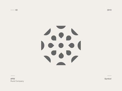 Symbol - Apsi Rural Company symbol logo branding design
