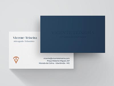 Business Card - Vicente Teixeira Law businesscard logo branding design