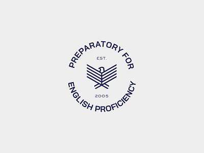 Badge - Bird English Advisor brand identity logo branding design