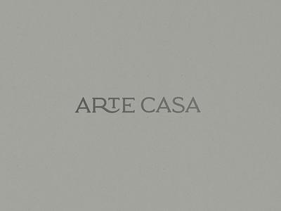 Logotype - Arte Casa identity brand design brand identity typography branding logo design