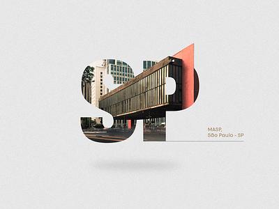 Brazil Monuments typography poster design design