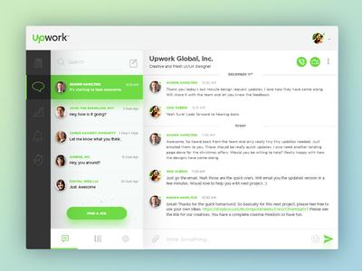 Upwork App Redesign