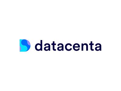 Datacenta Logo product icon typography illustration brandidentity logotype logomark identity beautiful branding icons vector logo designer designprocess colours creativedesign design