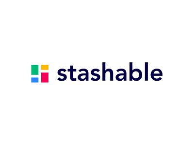 Stashable Logo web app ui product vector icon typography brandidentity beautiful creativedesign identity logotype icons logomark design colours designer designprocess logo branding