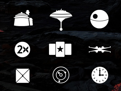 Star Wars Battlefront Icons