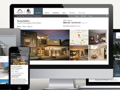 Indehaus Showcase ux ui development design web responsive