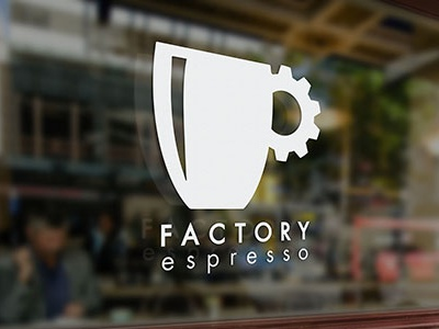 Factory Logo Decal minimalist branding logo