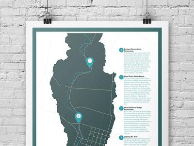 SCC Info Poster infographic poster branding design