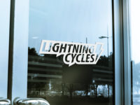 Lightning Cycles Logo Redesign