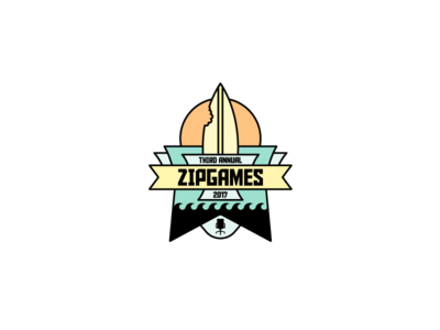 ZipGames Logo – Santa Monica