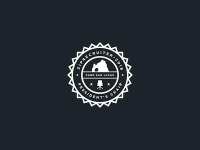 President's Club Logo ziprecruiter emblem logo emblem chair presidents cabo san lucas cabo brand and identity seal badgedesign badge logo badge