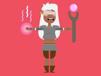 Blind Elf Character WIP