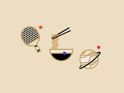 Icon Style Exploration illustration icons