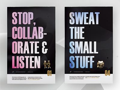 Intrepid's Design Traits illustration poster design team culture design team