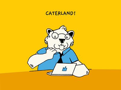 Caterland! drawing branding game design design design team character design illustration