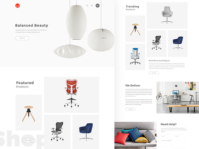 Herman Miller Product Redesign