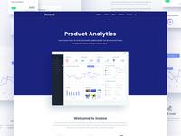 Insane Product Homepage