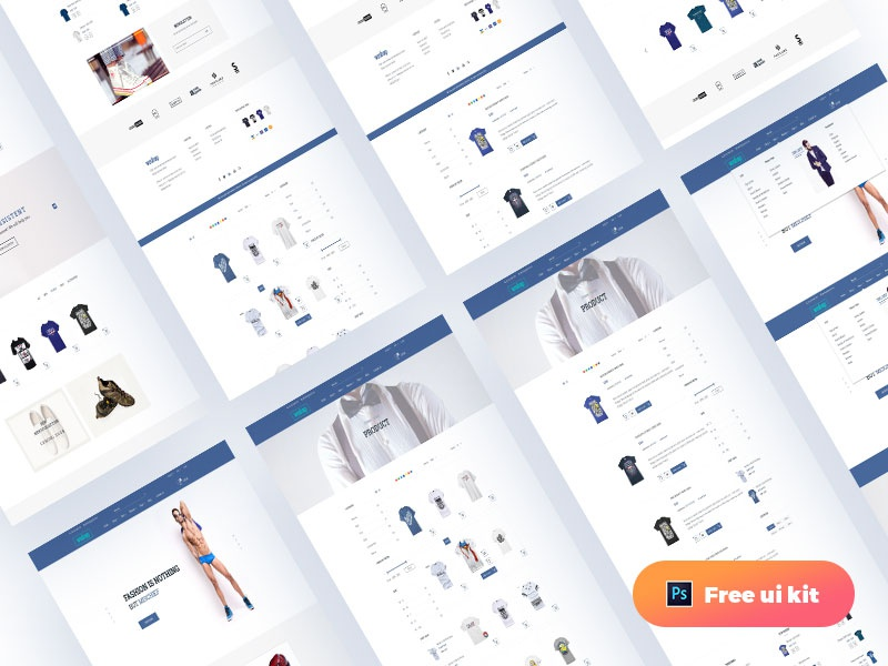 Download Freebie E-Commerce UI
