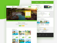 Hotel-Booking Web Concept