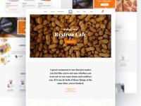 Restaurant Web Concept