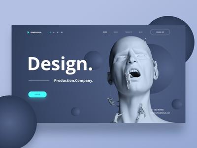 Design agency header