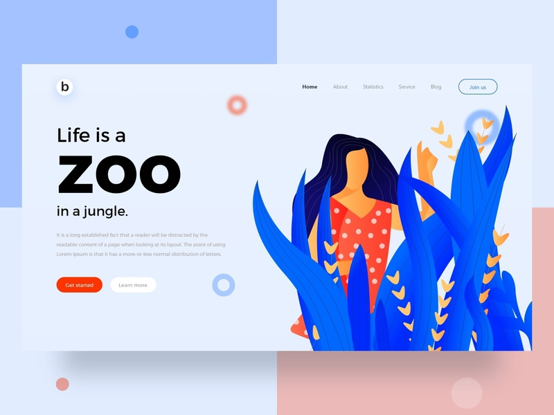 Jungle Girl logo apps screen e-commerce app protocol web icon typography branding animation design illustration vector mockup graphic designer landing page ui ux e-commerce web design