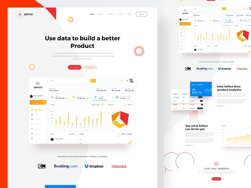 Saas web landing page vector product dashboard website software company saas design saas website saas landing page saas mockup e-commerce app graphic designer landing page ui ux e-commerce web design