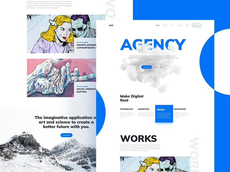 Agency Home-page Concept [ Free Download ] home-page agency design adobe xd freexd freebies freebie xd adobexduikit adobexd e-commerce app animation uiux mockup graphic designer landing page ux ui e-commerce web design