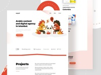 Agency Home-page Concept