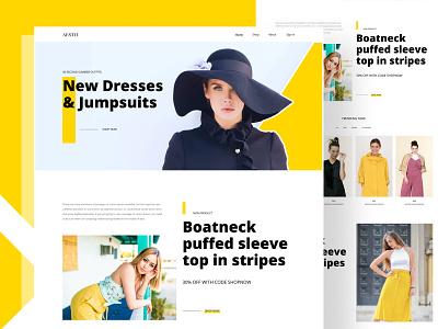 Fashion store exploration designer e-commerce-website website offer market popular hat bag shoes checkout cart order womens mens dress store online business fashion e-commerce