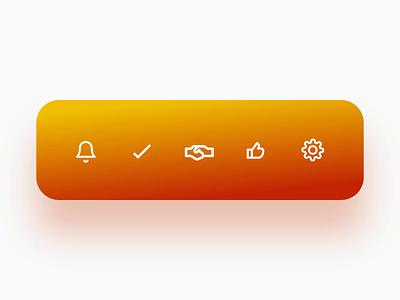 Tab Bar Animation web design ios 7 motion interaction design apps mobile android ios graphic designer mockup uiux ui ux
