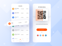 Crypto Wallet iOS App Concept