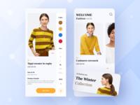 E-commerce ios apps screen