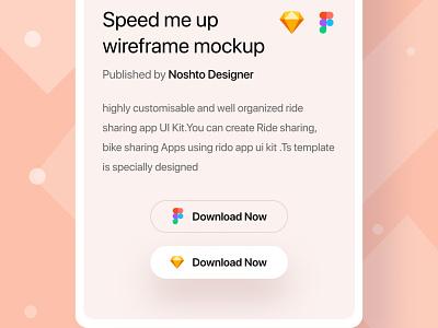 UI kit Mock up platform iOS Screen Concept free kit fresh color minimal design experience interface ui