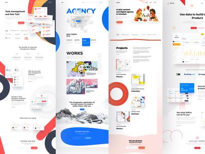 Landing page series