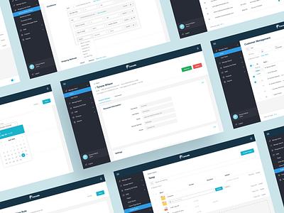 Cascade Admin Panel rules dashboad admin design app web app admin admin panel ux ui