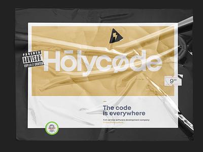 Logo for Hōlycøde code holy design branding id logotype logo