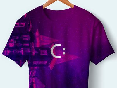 Branded T-shirt c: smile t-shirt branding