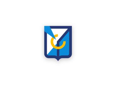 Suprematistic coat of arms branding city city branding logotype logo coat of arms heraldic abstract suprematism