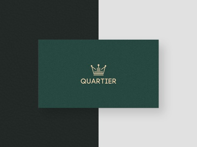 Real estate agency from Moscow quartier lines building crown green logo design moscow real estate agency real estate