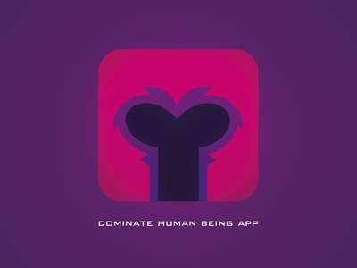 Dominate Human being app illustrator magneto phone icon app