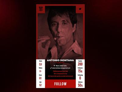 Montana User Profile app userprofile