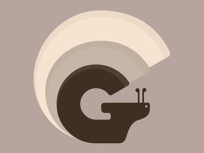 Letter G vector illustration letter