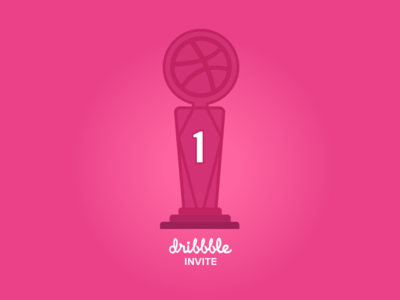 Dribbble invite vector invite dribbble