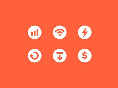 Icons money icon withdraw icon refund icon electric icon wifi icon signal icon ui icon set icons icon
