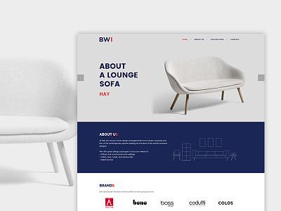 WIP Furniture Website uiux ui web furniture website