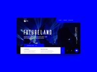 UI / UX Design Homepage for Futurland powered by Talent Garden