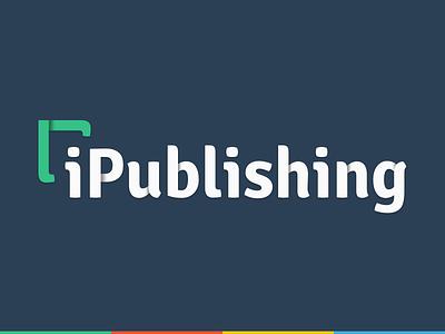 iPublishing Logo logotype shade agency company identity typography type press publishing branding symbol logo