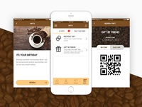 Espresso Coffee Mobile App - Redeem Points