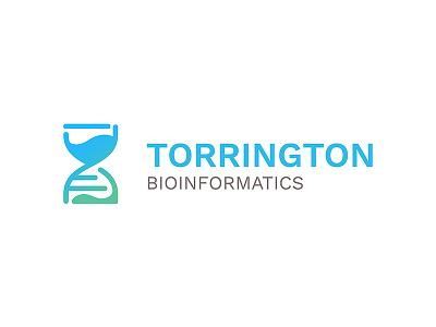 Torrington Bioinformatics logo  (WIP) bioinformatics dna time